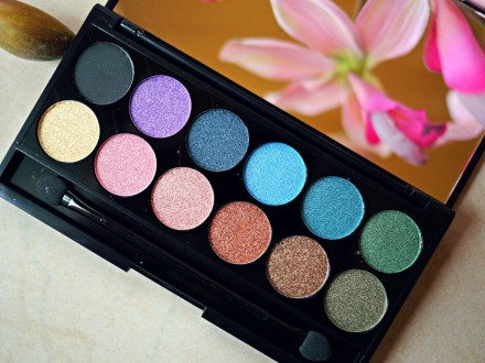 Палетка теней Sleek MakeUp Eyeshadow Palette I-Divine 12 тонов Original: фото