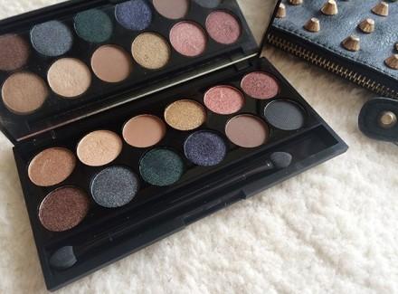 Палетка теней Sleek MakeUp Eyeshadow Palette I-Divine 12 тонов Storm: фото