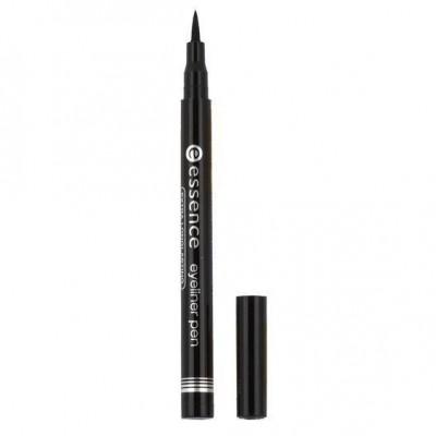 Подводка для глаз ESSENCE Eye Liner Pen Black черная 010: фото
