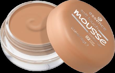 Мусс тонирующий Soft Touch Matt Mousse Essence 02 matt beige: фото