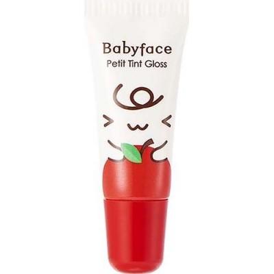 Блеск-тинт для губ It`s Skin Babyface Petit Tint Gloss тон 01, яблоко: фото