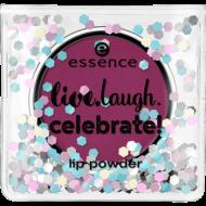 Пудра для губ Live.laugh.celebrate! Essence 01: фото