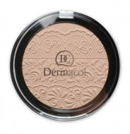 Компактная пудра Dermacol Compact powder with lace relief тон 3: фото