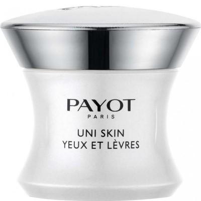 Выравнивающий совершенствующий крем для области вокруг глаз и губ Payot Uni Skin 15 мл: фото