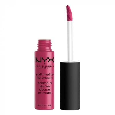 Жидкая помада NYX Professional Makeup Soft Matte Lip Cream - PRAGUE 18: фото