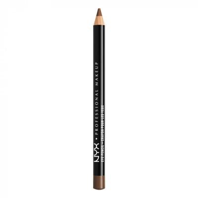 Карандаш для век NYX Professional Makeup Slim Eye Pencil - MEDIUM BROWN: фото