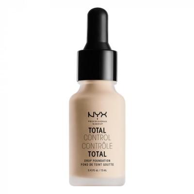 Тональная основа NYX Professional Makeup Total Control Drop Foundation - ALABASTER: фото