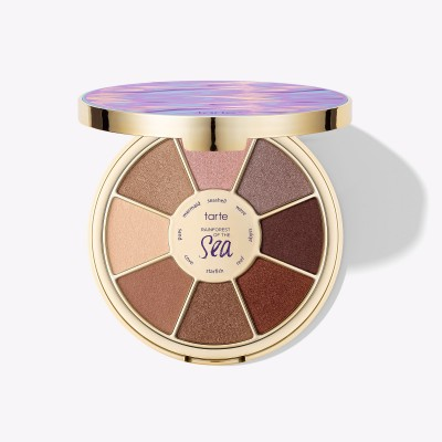 Палетка теней для век Tarte Rainforest of the Sea™ limited-edition eyeshadow palette: фото