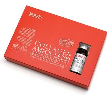 Сыворотка-концентрат морского коллагена RAMOSU Collagen ampoule 10мл*3: фото