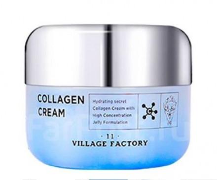 Крем для лица увлажняющий с коллагеном VILLAGE 11 FACTORY Collagen Cream: фото