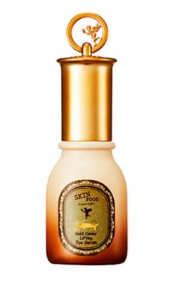 Cыворотка для области вокруг глаз с экстрактом икры SKINFOOD Gold Caviar Lifting Eye Serum: фото