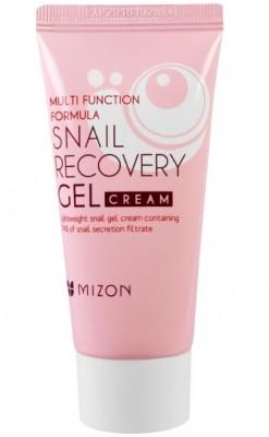 Крем-гель с улиточным секретом MIZON Snail Recovery Gel Cream 45мл: фото
