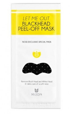 Стикер от черных точек MIZON Let Me Out Blackhead Peel-Off Mask: фото