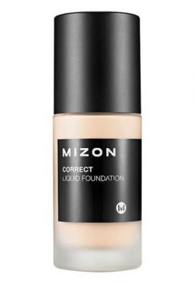 Тональная основа увлажняющая MIZON Correct Liquid Foundation SPF25 №25 Dark Beige: фото