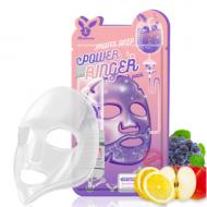 Отзывы Маска тканевая с фруктами ELIZAVECCA Fruits deep power ringer mask pack 23 мл.