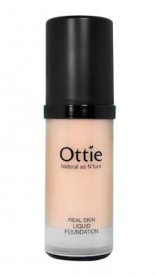 Тональная основа под макияж OTTIE Real Skin Liquid Foundation Ecuador №02 30мл: фото