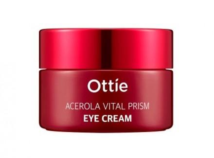 Крем для кожи глаз с экстрактом ацеролы OTTIE Acerola Vital Prism Eye Cream 30мл: фото