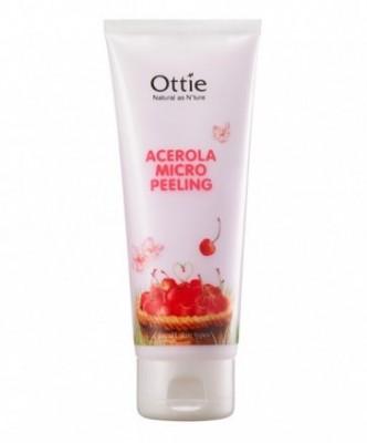 Пилинг-скатка с вишней OTTIE Acerola Micro Peeling 150мл: фото