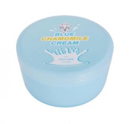 Гель-крем с экстрактом голубой ромашки VILLAGE 11 FACTORY Blue Chamomile Cream: фото
