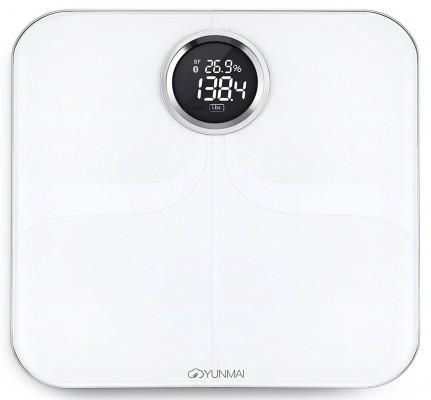 Умные весы YUNMAI premium, белые: фото