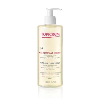 Гель очищающий для атопичной кожи TOPICREM AD Ultra-rich 500 мл: фото