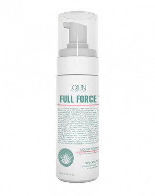 Мусс-пилинг с экстрактом алоэ OLLIN Full Force 160мл: фото