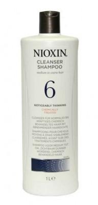 Шампунь очищающий Nioxin System6 1000мл: фото