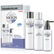 Набор 3х-ступенчатая система Nioxin System5 150+150+50 мл: фото