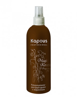 Кондиционер-реструктурант с кератином Kapous Magic Keratin 200мл: фото