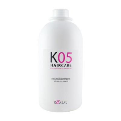Шампунь для профилактики выпадения волос Kaaral К05 Anti Hair Loss Shampoo 1000мл: фото