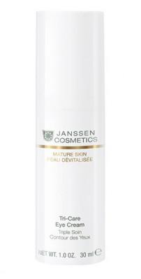 Крем вокруг глаз омолаживающий укрепляющий Janssen Cosmetics Tri-Care Eye Cream 30мл: фото