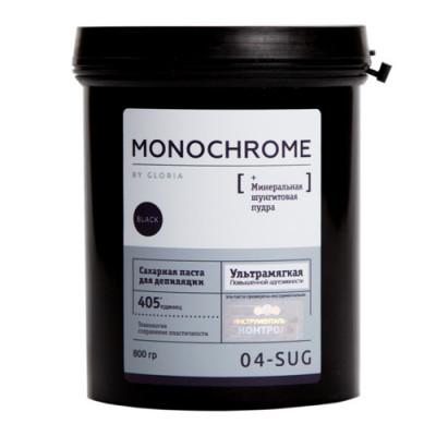 Сахарная паста для депиляции Ультра-мягкая Gloria Monochrome 0,8 кг: фото