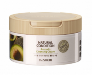 Крем очищающий авокадо THE SAEM Natural Condition Avocado Cleansing Cream 300мл: фото