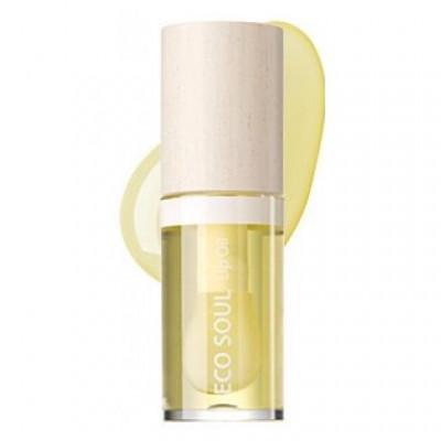 Масло для губ THE SAEM ECO SOUL Lip Oil 01 Honey 30г: фото