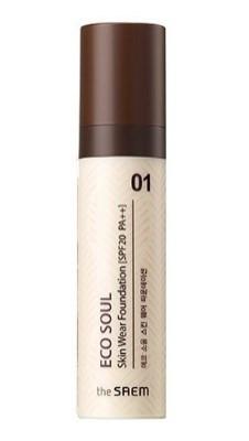 Тональная основа THE SAEM Eco Soul Skin Wear Foundation 01 Nutral tone 30мл: фото