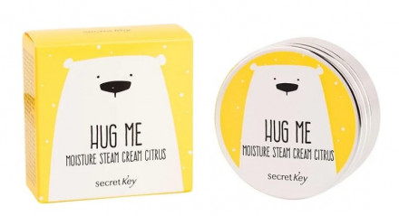 Крем для лица увлажняющий SECRET KEY HUG ME Moisture Steam Cream Citrus 80г: фото