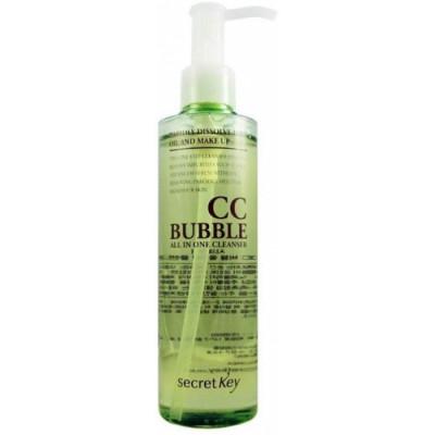 Средство для снятия BB и CC макияжа пенящееся SECRET KEY CC Bubble All in One Cleanser 210 мл: фото