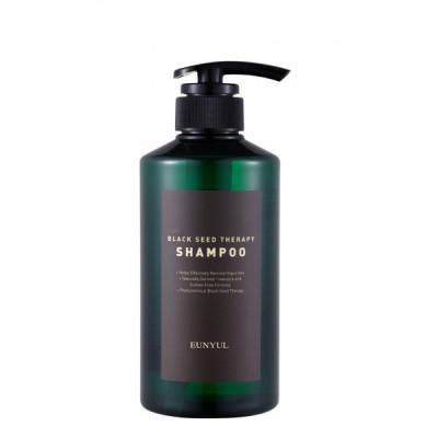 Шампунь для волос с маслом черного тмина EUNYUL BLACK SEED THERAPY SHAMPOO 500 мл: фото