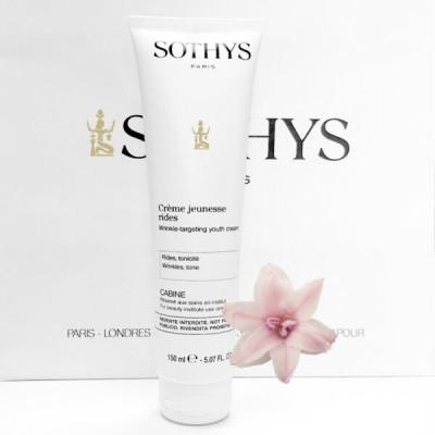 Крем против морщин с глубоким регенерирующим действием Sothys Wrinkle-Targeting Youth Cream 150 мл: фото