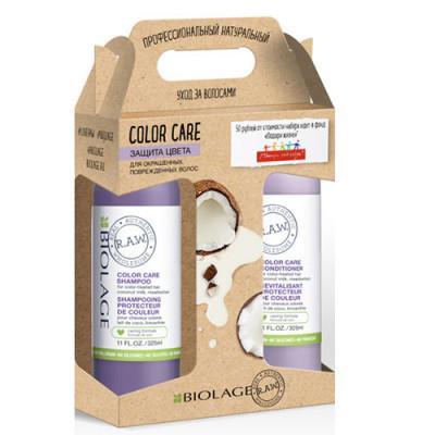 Набор Защита цвета Matrix Biolage R.A.W. Шампунь 325 мл + Кондиционер 325 мл: фото