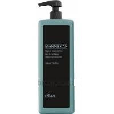 Шампунь тонирующий Черный KAARAL MANNISKAN Black Toning Shampoo 1000мл: фото
