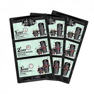 Набор патчей для удаления черных точек SECRET KEY Black Out Pore 3-Step Nose Pack 7г: фото