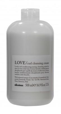 Пенка очищающая для усиления завитка Davines LOVE CURL cleansing cream 500мл: фото