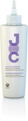 Гель отшелушивающий с Гамамелисом виргинским и Микросферами жожоба Barex JOC Cure Anti-Dandruff Peeling 150мл: фото