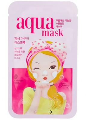 Маска тканевая увлажняющая FASCY BUBBLE Tina Aqua Mask 26г: фото