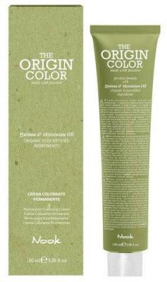 Краска для волос NOOK Origin Color Cream 5.5 Махагоновый Светлый Шатен 100 мл: фото