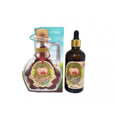 Сыворотка с маслом жожоба Elizavecca Farmer Piggy Jojoba Oil 100% 100мл: фото