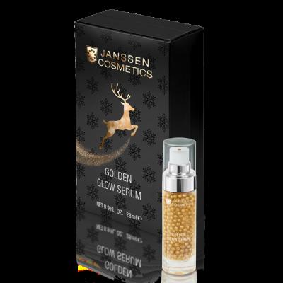 Лифтинг-сыворотка с эффектом сияния Janssen Cosmetics Golden Glow Serum 28 мл: фото