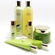 Набор для лица с зеленым чаем DEOPROCE PREMIUM GREENTEA TOTAL SOLUTION SKIN CARE 5 SET 260мл*2 + 100мл + 40мл*2 + 30мл*2: фото