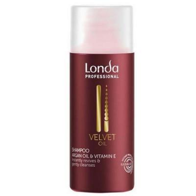 Шампунь с аргановым маслом Londa Professional Velvet Oil 50 мл: фото